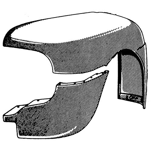 Fiberglass Front Fender