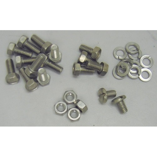Stainless Clutch Dust Cover Bolt Kit
