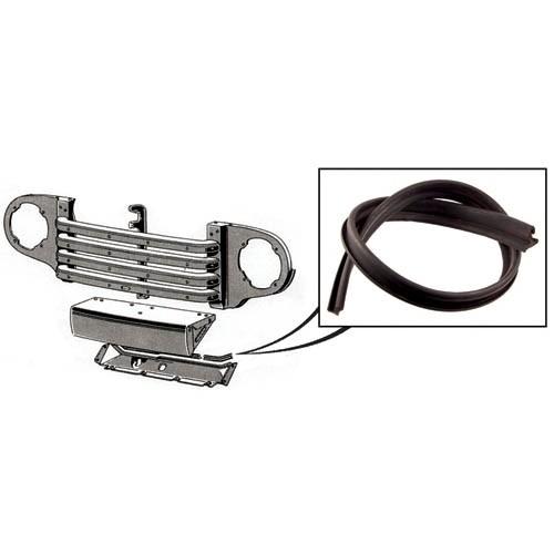 Lower Radiator Grille Splash Pan To Radiator Seal