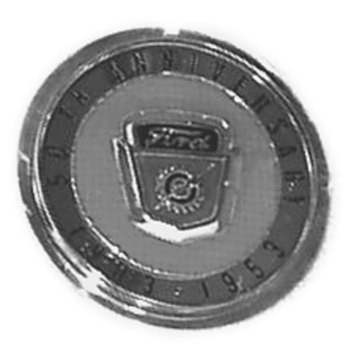 50th Anniversary Horn Button
