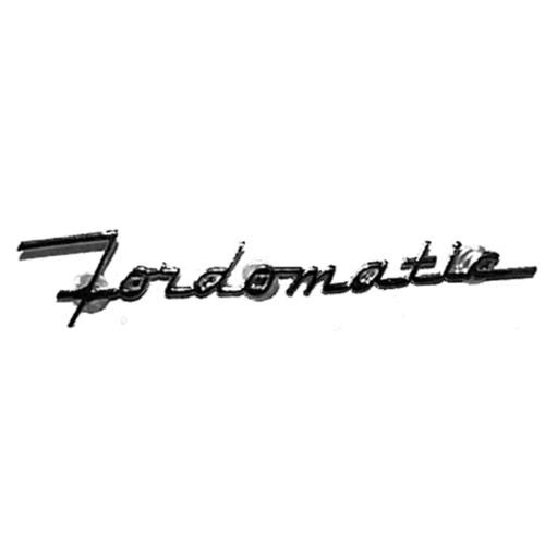 'Fordomatic' Emblem