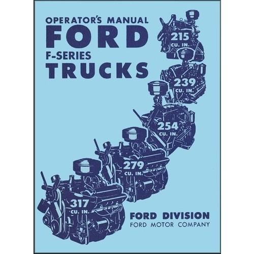 1951 Pickup Owners Manual