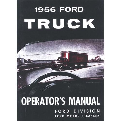 1956 Pickup Owners Manual