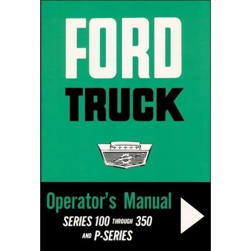 1964 Pickup Owners Manual