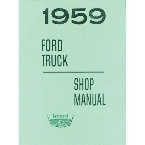 1959 Pickup Shop Manual