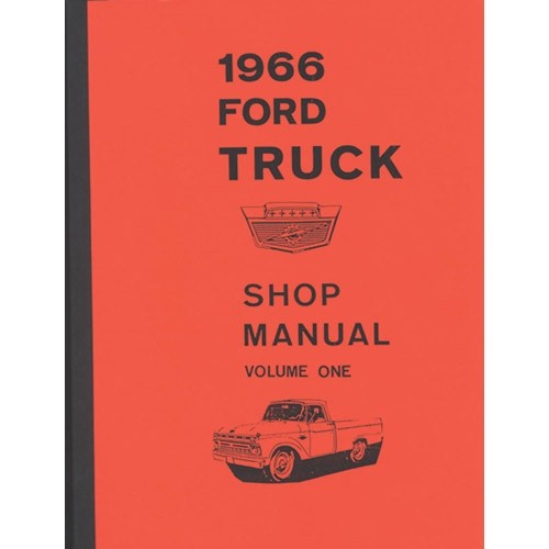 1966 Ford Truck Shop Manual