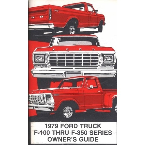 1979 F100/350 Owners Manual