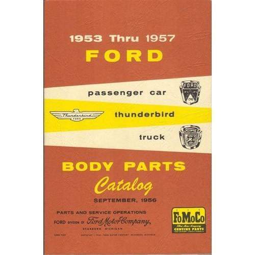 Body Parts Catalog 1953-57