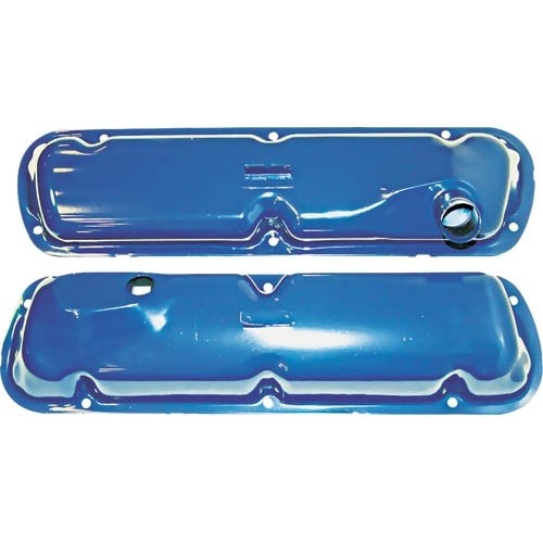 Blue Painted Valve Cover