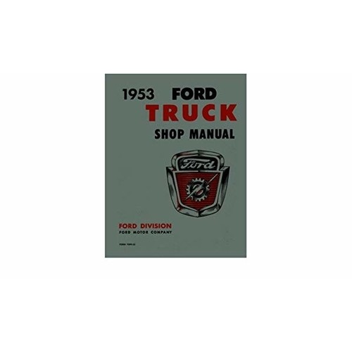 1953 Ford Truck Shop Manual on CD