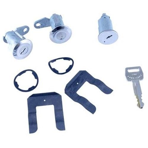 Ignition & Door Lock Cylinder Key Set