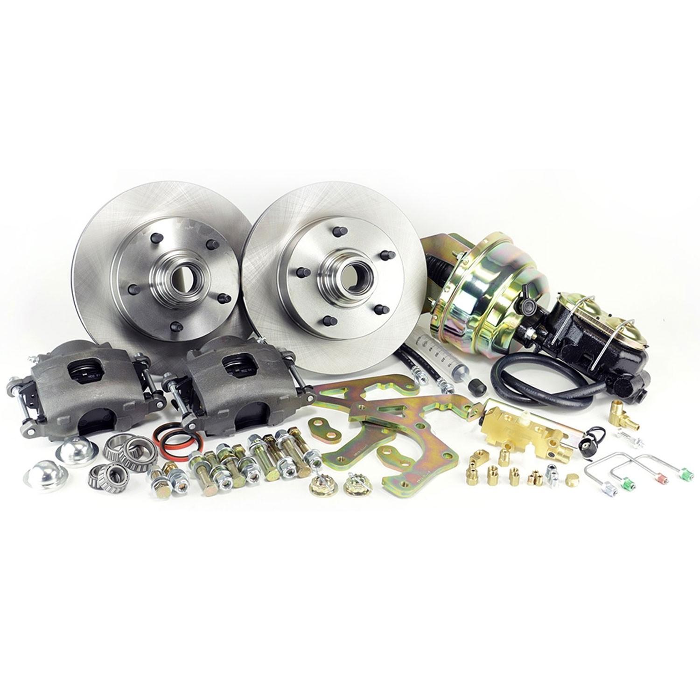 Ford Truck Power Front Disc Brake Kit