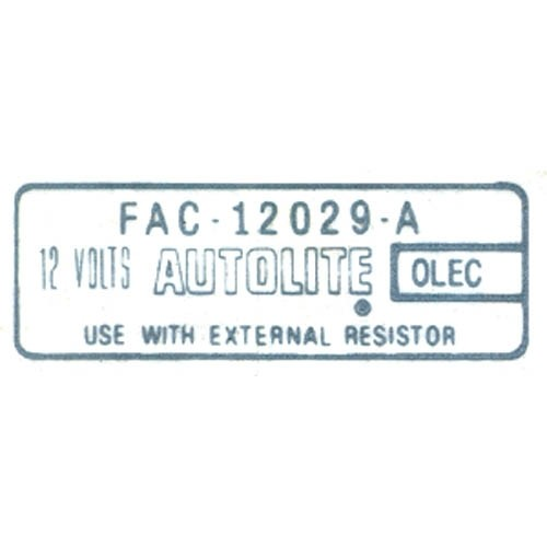 IGNITION COIL DECAL