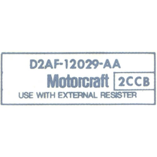MOTORCRAFT COIL DECAL