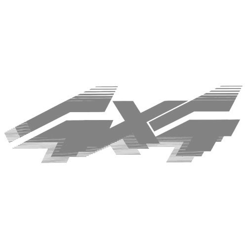 4x4 Quarter Panel Decal - Silver
